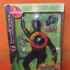 Figuras y Muñecos Gi Joe: G.I.JOE THE RISE OF COBRA,SNAKE EYES NINJA COMMANDO,HASBRO,2008,CAJA ORIGINAL,A ESTRENAR. Lote 46300477