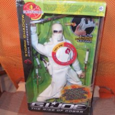 Figuras y Muñecos Gi Joe: G.I.JOE THE RISE OF COBRA,STORM SHADOW,NINJA MERCENARY,HASBRO,2008,CAJA ORIGINAL,A ESTRENAR. Lote 46330161