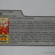 Figuras y Muñecos Gi Joe: GI JOE - FICHA BOA (AÑOS 80). S_N. Lote 40990193