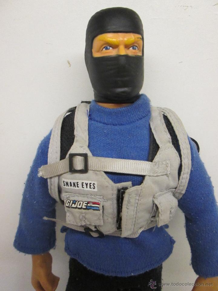 Figuras y Muñecos Gi Joe: GI JOE GIJOE SNAKE EYES 30 cmts. 12 pulgadas Hasbro 1992 - Foto 2 - 51041478