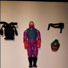 Figuras y Muñecos Gi Joe: TOXO VIBORA GIJOE GI JOE CON FICHA. Lote 52331920