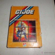 Figuras y Muñecos Gi Joe: GIJOE PUZZLE DE CUBOS DALMAU. Lote 54273408