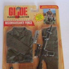 Figuras y Muñecos Gi Joe: GIJOE, GI JOE RECONNAISSANCE FORCE, MISSION GEAR, DE KENNER, EN BLISTER. CC. Lote 56678188