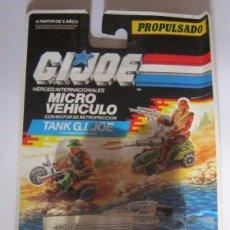 Figuras y Muñecos Gi Joe: GI JOE, GIJOE MICRO VEHICULO, PROPULSADO, TANK, EN BLISTER. CC. Lote 67216151