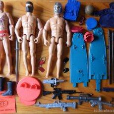 Figuras y Muñecos Gi Joe: LOTE GIJOE DE 45 FIGURAS & ARMAS & ROPA & ACCESORIOS & COMPLEMENTOS.. Lote 57528029