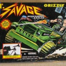 Figuras y Muñecos Gi Joe: G.I.JOE JEEP SGT.SAVAGE GRIZZLY SS-1 GIJOE 1994. Lote 57695894