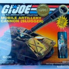 Figuras y Muñecos Gi Joe: GIJOE G.I.JOE GI JOE MOBILE ARTILLERY CANNON SLUGGER + FIGURA EXCLUSIVA GUNG-HO. Lote 61755880