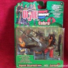 Figuras y Muñecos Gi Joe: GIJOE VS COBRA HASBRO 2002. Lote 110047667