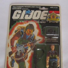 Figuras y Muñecos Gi Joe: FIGURA GI JOE FOOTLOOSE, HASBRO, AÑO 1989, EN BLISTER. CC. Lote 75952367