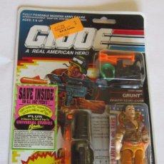 Figuras y Muñecos Gi Joe: FIGURA GI JOE GRUNT, HASBRO, AÑO 1990, EN BLISTER. CC. Lote 76055799