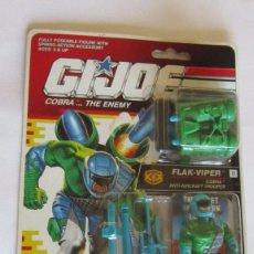 Figuras y Muñecos Gi Joe: FIGURA GI JOE FLAK VIPER, HASBRO, AÑO 1991, EN BLISTER. CC. Lote 76055839