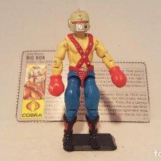 Figuras y Muñecos Gi Joe: FIGURA GI JOE - BIG BOA - 1987 - CON GUANTES + FICHA. Lote 124119526
