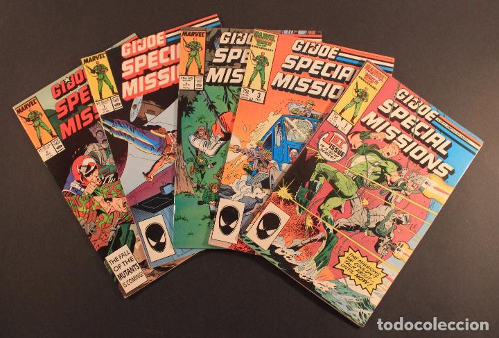 MARVEL COMICS LOTE DE 5 CÓMICS GI JOE: SPECIAL MISSIONS - NÚMS. 1, 3, 4, 7 Y 8 EN INGLÉS (Juguetes - Figuras de Acción - GI Joe)