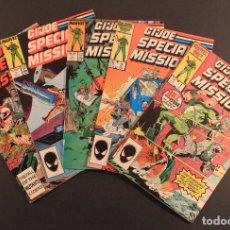Figuras y Muñecos Gi Joe: MARVEL COMICS LOTE DE 5 CÓMICS GI JOE: SPECIAL MISSIONS - NÚMS. 1, 3, 4, 7 Y 8 EN INGLÉS. Lote 79987709