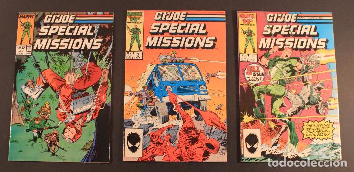 Figuras y Muñecos Gi Joe: Marvel Comics Lote de 5 cómics GI JOE: SPECIAL MISSIONS - Núms. 1, 3, 4, 7 y 8 en inglés - Foto 2 - 79987709