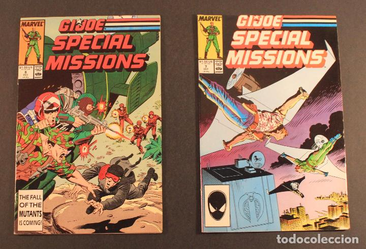 Figuras y Muñecos Gi Joe: Marvel Comics Lote de 5 cómics GI JOE: SPECIAL MISSIONS - Núms. 1, 3, 4, 7 y 8 en inglés - Foto 3 - 79987709