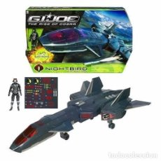Figuras y Muñecos Gi Joe: AVIÓN NIGHTBIRD DE LA PELÍCULA GI.JOE THE RISE OF COBRA. Lote 85967644
