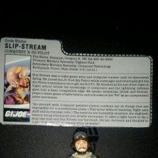Figuras y Muñecos Gi Joe: GIJOE SLIP-STREAM V1 (PILOTO) 1986 COMPLETA. Lote 94483835