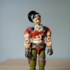 Figuras y Muñecos Gi Joe: GI JOE FIGURA DE ZANZIBAR V.1 DE 1987. PIRATA DREADNOK.. Lote 97777039