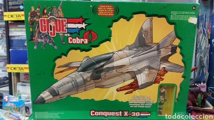 Figuras y Muñecos Gi Joe: Lote GIJOE conquest X 30 y night attack chopper - Foto 2 - 98704679