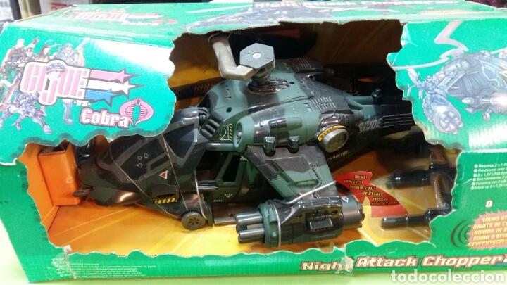 Figuras y Muñecos Gi Joe: Lote GIJOE conquest X 30 y night attack chopper - Foto 3 - 98704679