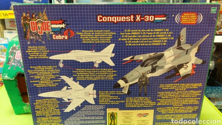 Figuras y Muñecos Gi Joe: Lote GIJOE conquest X 30 y night attack chopper - Foto 4 - 98704679