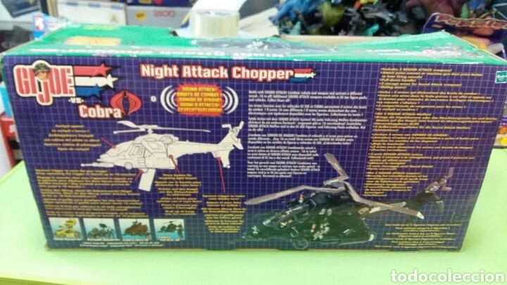Figuras y Muñecos Gi Joe: Lote GIJOE conquest X 30 y night attack chopper - Foto 5 - 98704679