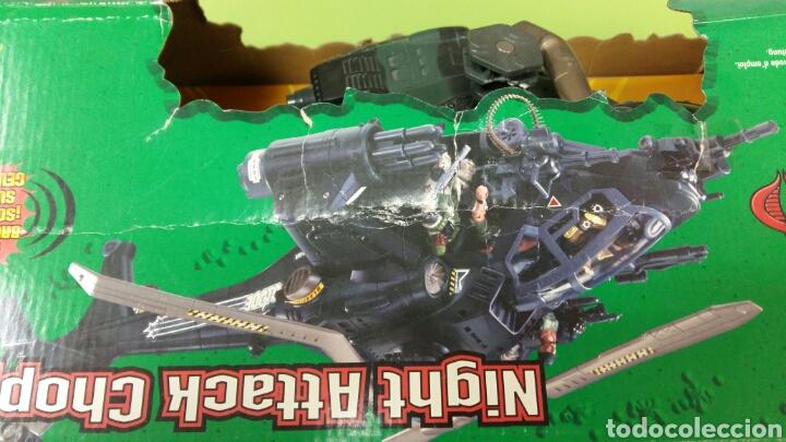 Figuras y Muñecos Gi Joe: Lote GIJOE conquest X 30 y night attack chopper - Foto 6 - 98704679