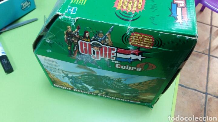 Figuras y Muñecos Gi Joe: Lote GIJOE conquest X 30 y night attack chopper - Foto 7 - 98704679