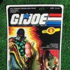 Figuras y Muñecos Gi Joe: LOTE MASTERS BLISTER GIJOE GI JOE CROC MASTER PRECINTADO IMPECABLE AÑOS 80 ORIGINAL COBRA HEROES. Lote 173943567