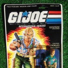 Figuras y Muñecos Gi Joe: LOTE MASTERS BLISTER GIJOE GI JOE CHUCKLES PRECINTADO IMPECABLE AÑOS 80 ORIGINAL COBRA HEROES. Lote 200172870