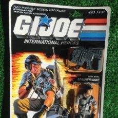 Figuras y Muñecos Gi Joe: LOTE MASTERS BLISTER GIJOE GI JOE MAINFRAME PRECINTADO IMPECABLE AÑOS 80 ORIGINAL COBRA HEROES. Lote 173943748