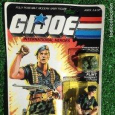 Figuras y Muñecos Gi Joe: LOTE MASTERS BLISTER GIJOE GI JOE FLINT PRECINTADO IMPECABLE AÑOS 80 ORIGINAL COBRA HEROES. Lote 241142735