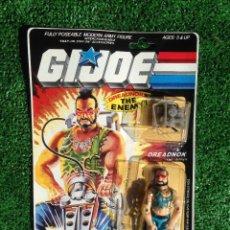 Figuras y Muñecos Gi Joe: LOTE MASTERS BLISTER GIJOE GI JOE DREADNOCK PRECINTADO AÑOS 80 ORIGINAL COBRA HEROES. Lote 227444895