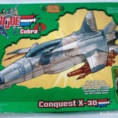 Figuras y Muñecos Gi Joe: GI.JOE: CONQUEST X-30 CON PERSONAJE SLIP STREAM. ¡NUEVO! SIN USAR. CAJA ORIGINAL EN PERFECTO ESTADO.. Lote 107578939