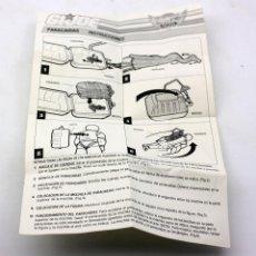 Figuras y Muñecos Gi Joe: GI JOE - INSTRUCCIONES PARACAIDAS SKY PATROL - 1990. Lote 107596807