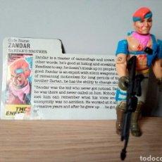 Figuras y Muñecos Gi Joe: GI JOE ZARDAN V.1 DE 1986. COMPLETA CON FILECARD. DREADNOK.. Lote 107621720