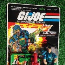 Figuras y Muñecos Gi Joe: LOTE MASTERS BLISTER GIJOE GI JOE DIAL TONE PRECINTADO IMPECABLE AÑOS 80 ORIGINAL COBRA HEROES. Lote 230901075