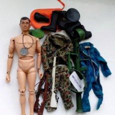 Figuras y Muñecos Gi Joe: MUÑECO VINTAGE GI JOE AÑO 1964 DE HASBRO EEUU,GEYPERMAN.ACTION MAN. Lote 112717199