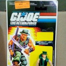 Figuras y Muñecos Gi Joe: GI JOE MUSKRAT V.1 DE 1988. COMPLETA CON CARD BACK EN INGLES.ORIGINAL HASBRO. Lote 112999756