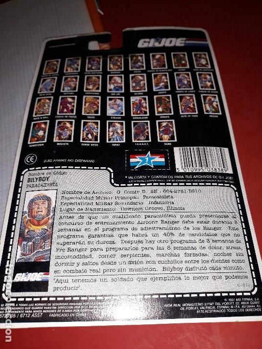 Figuras y Muñecos Gi Joe: FIGURA GIJOE BILY BOY NUEVA gi joe a estrenar Año 1991 en su blister intacto - Foto 3 - 114299019