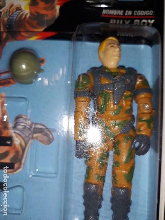 Figuras y Muñecos Gi Joe: FIGURA GIJOE BILY BOY NUEVA gi joe a estrenar Año 1991 en su blister intacto - Foto 2 - 114299019