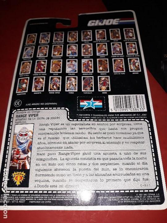 Figuras y Muñecos Gi Joe: FIGURA GIJOE RANGE VIPER NUEVA gi joe a estrenar Año 1991 en su blister intacto - Foto 3 - 114302587