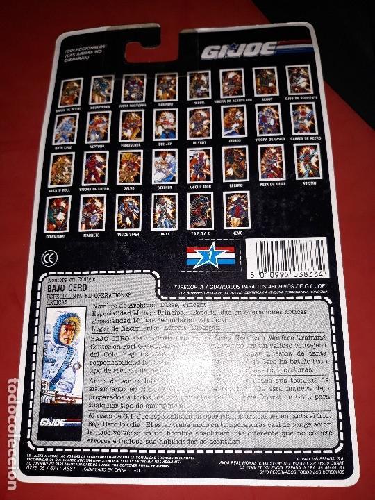Figuras y Muñecos Gi Joe: FIGURA GI JOE BAJO CERO NUEVA EN SU BLISTER INTACTO A ESTRENAR AÑO 1991 GIJOE - Foto 3 - 11510119