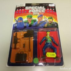 Figuras y Muñecos Gi Joe: 918- SPECIAL FORCE A TEAM MODERN ARMY (TIPO GI JOE) AÑOS 80 NEW Nº 4/2. Lote 116344119