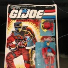 Figuras y Muñecos Gi Joe: BLISTER NUEVO PRECINTADO GIJOE GI JOE BARBECUE. Lote 116491283