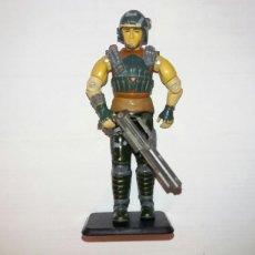 Figuras y Muñecos Gi Joe: FIGURA GIJOE DODGER V1 S6 1987 SAGA BATTLE FORCE 2000. CON ARMA + BASE. GI JOE G.I. JOE. Lote 116610919