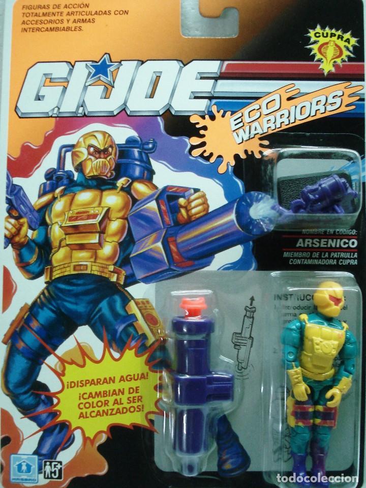 GIJOE: LOTE 4 MUÑECOS : ARSÉNICO-RODIO-FALGASS Y COMMANDER. DIFÍCILES DE CONSEGUIR.. ¡NUEVOS!! (Juguetes - Figuras de Acción - GI Joe)
