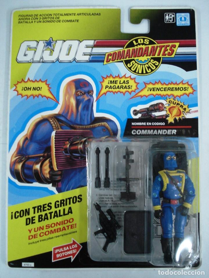 Figuras y Muñecos Gi Joe: GIJOE: LOTE 4 MUÑECOS : ARSÉNICO-RODIO-FALGASS Y COMMANDER. DIFÍCILES DE CONSEGUIR.. ¡NUEVOS!! - Foto 7 - 116911463