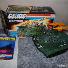 Figuras y Muñecos Gi Joe: GIJOE WARTHOG (A.I.F.V.) 1988 HASBRO COMPLETO. Lote 125137459